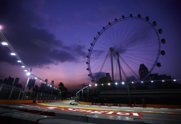 INCENTIVES // Trackside in Singapore