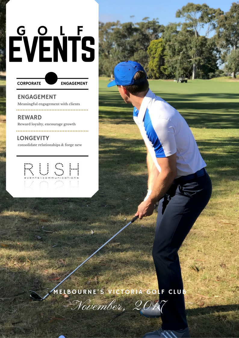 GOLF EVENTS // MEANINGFUL ENGAGEMENT
