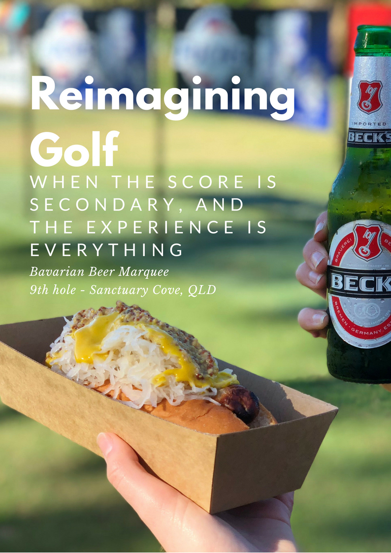 REIMAGINING CORPORATE GOLF