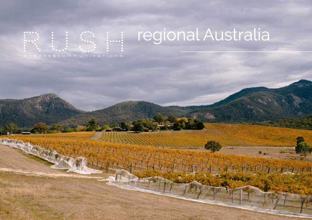 REGIONAL AUSTRALIA // Back to business and supporting local